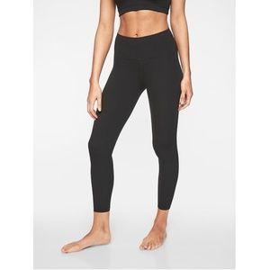 NWT Athleta Elation 7/8 Yoga Tight Solid Black